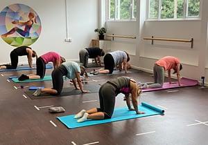 Pilates class in Sheffield